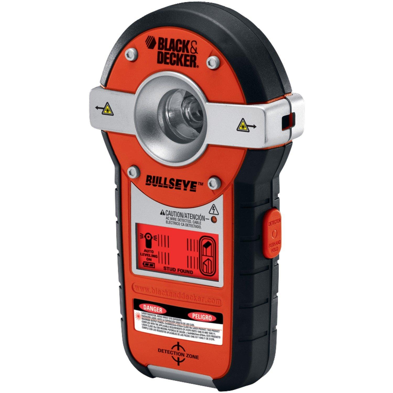 Black Decker BDL190S BullsEye Auto-Leveling Interior Line Laser with Stud Sensor