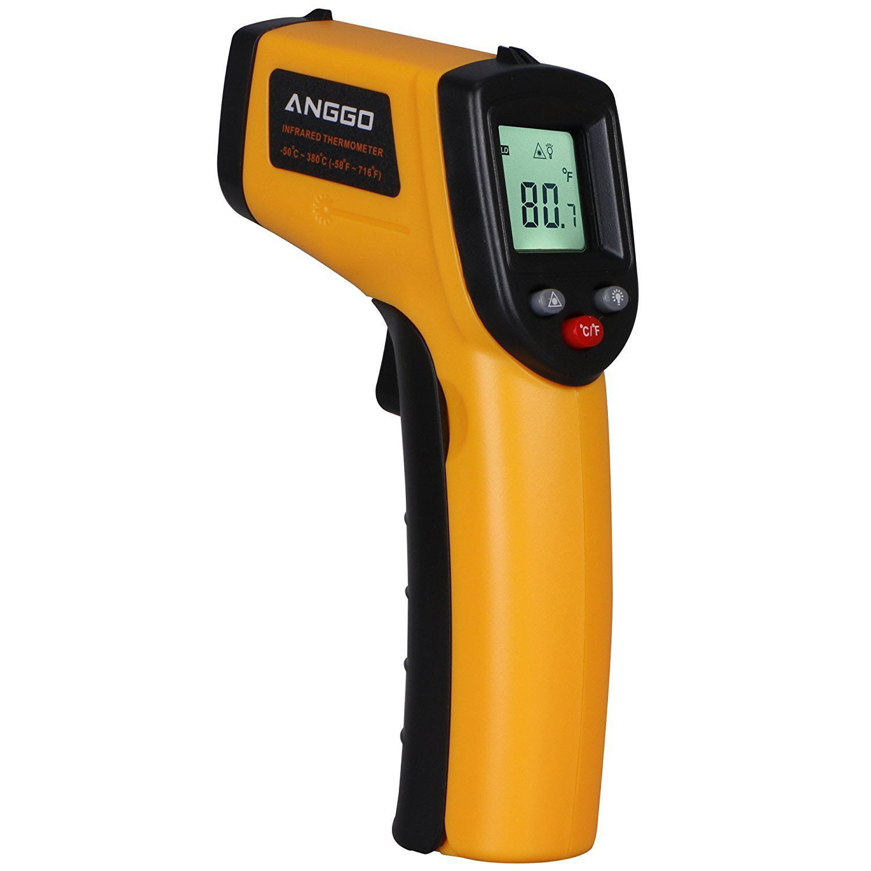ANGGO IR Infrared Non-contact Digital Temperature Gun Thermometer