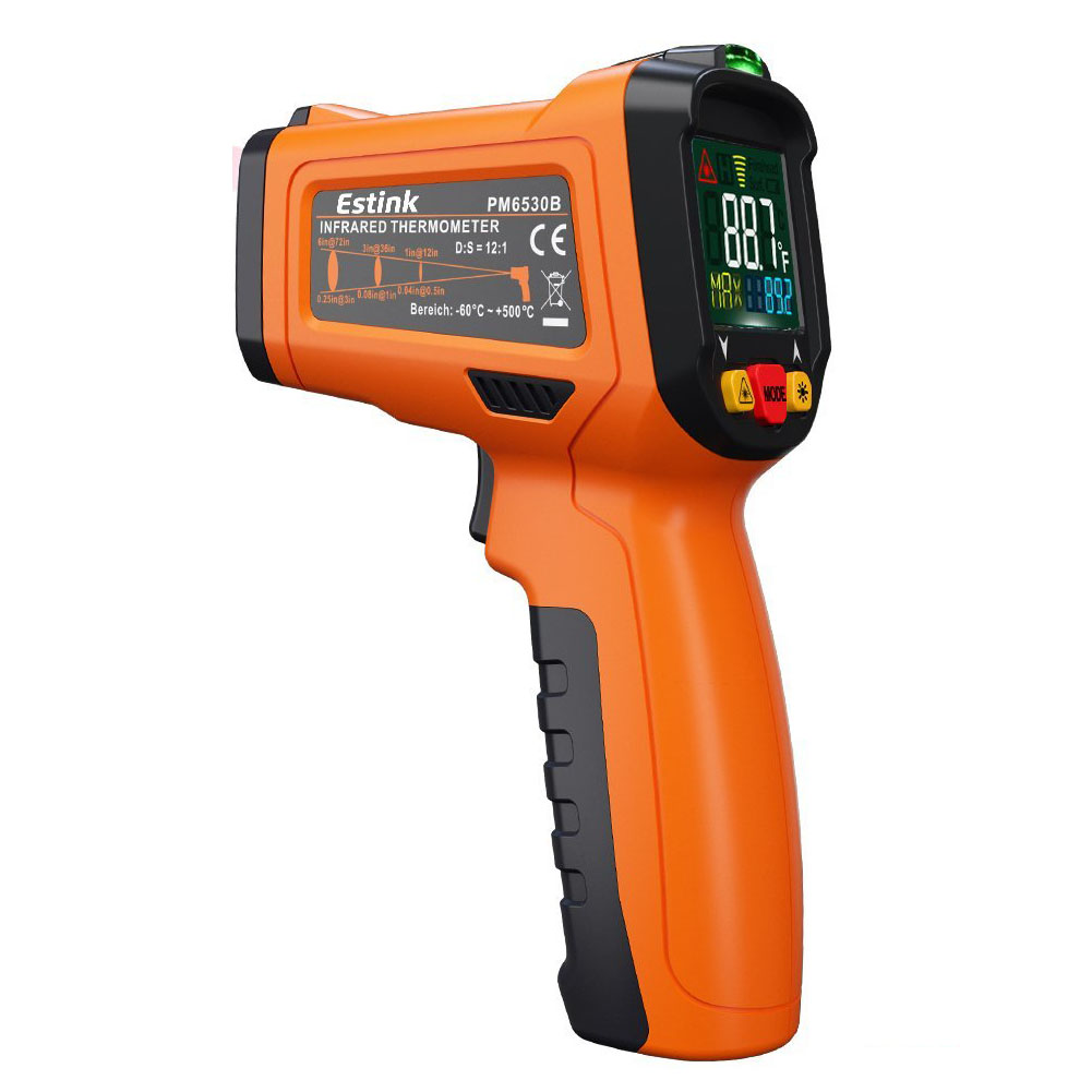 Estink ES6530B Non-contact Infrared Thermometer With Laser Targeting