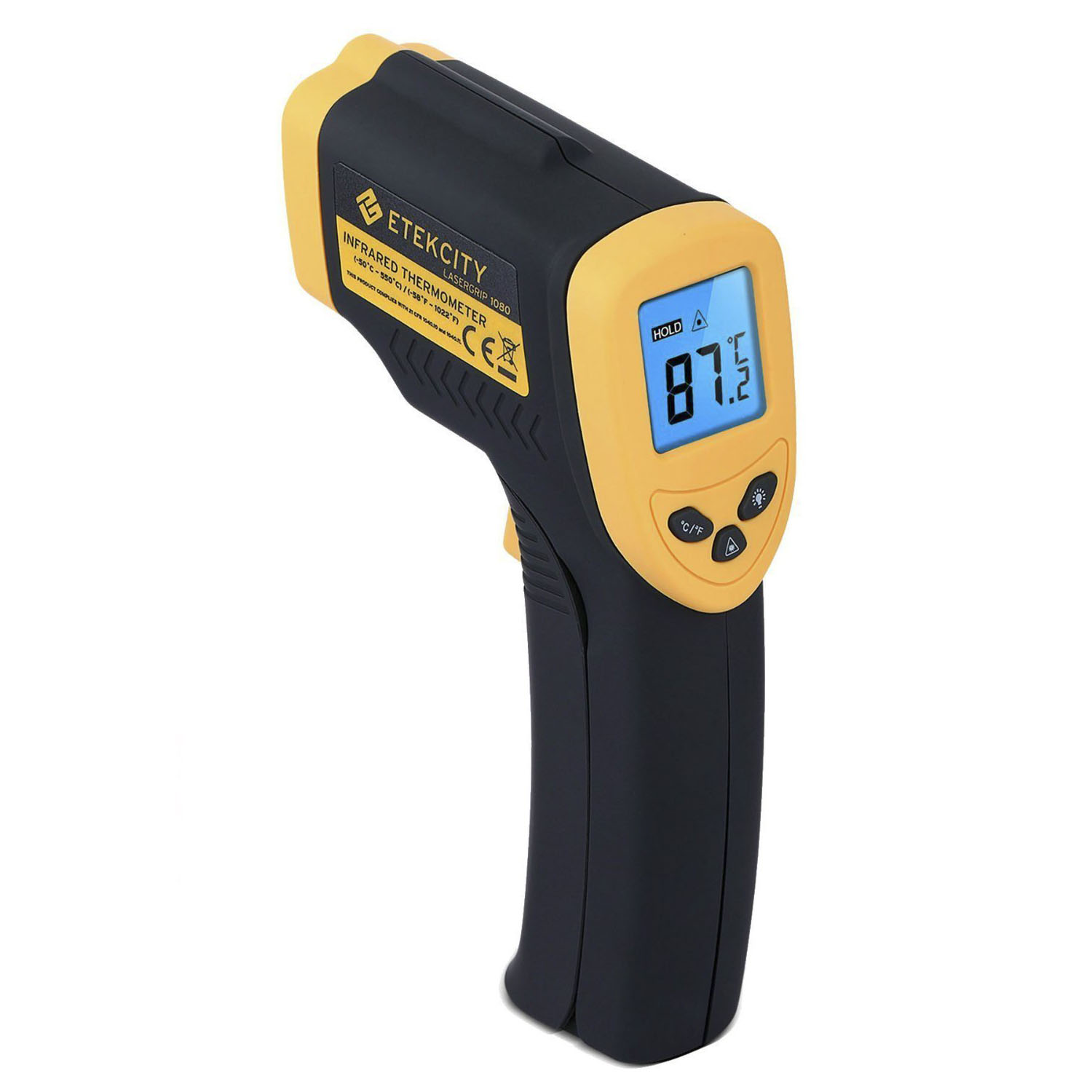 Etekcity Lasergrip 1080 Non-contact Digital Infrared Laser Thermometer