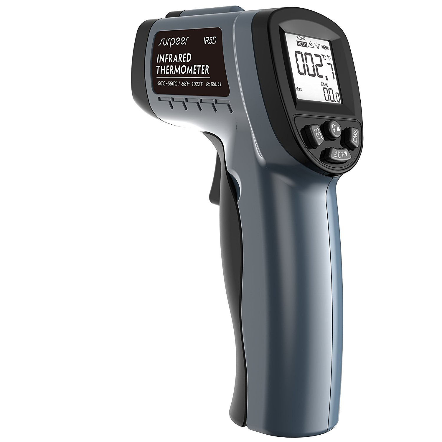 SURPEER IR5D Digital Infrared Thermometer