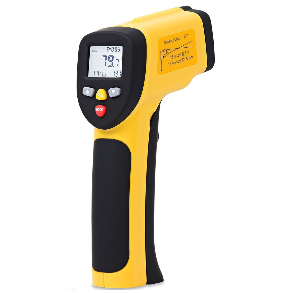 EnnoLogic eT650D Non-contact Infrared Thermometer